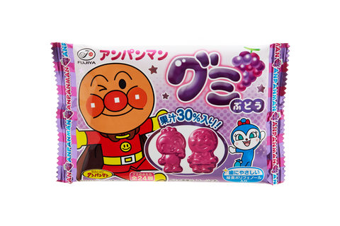 Anpanman Grape Gummies