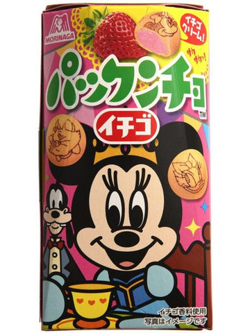 Morinaga Minnie Mouse Strawberry Cookies