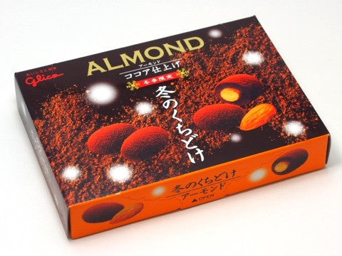 Glico Winter Chocolate Almond