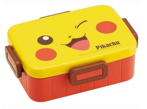 Pikachu 4-point lock lunch box
