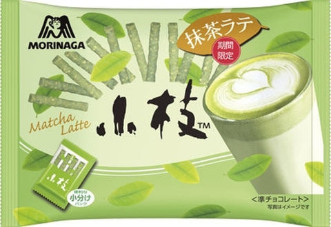 Morinaga Matcha Latte Cookie Sticks