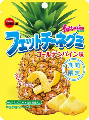 Fettuccine Gummy Golden Pineapple Flavor