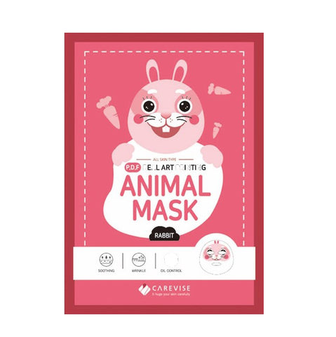 Carevise rabbit sheet mask
