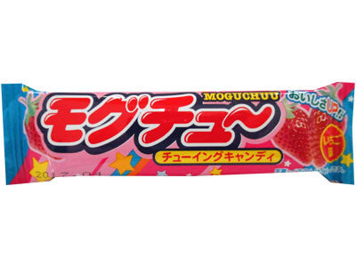 Moguchuu Strawberry Soft Candy