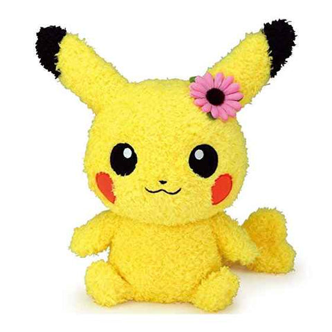 Pikachu Flower Stuffed Animal