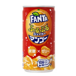 Fanta Mango Jelly Drink