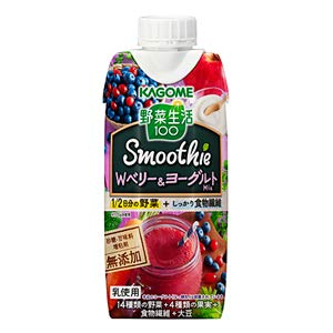 Vegetable Life Smoothie - Berry & Yogurt Smoothie