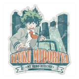 My Hero Academia Deku Travel Sticker