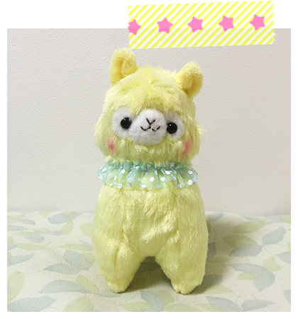 Alpacasso Frilly LMC Cream-chan