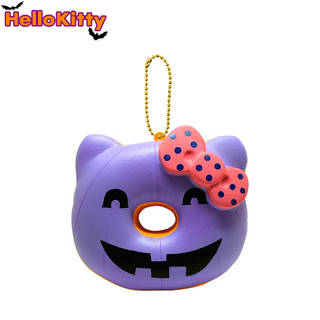Hello Kitty Halloween Donut Squishy - Purple