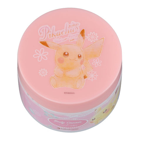 Pikachu body cream