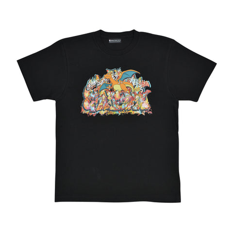 Pokémon Center SHIBUYA: Charizard Graffiti Artist T-Shirt