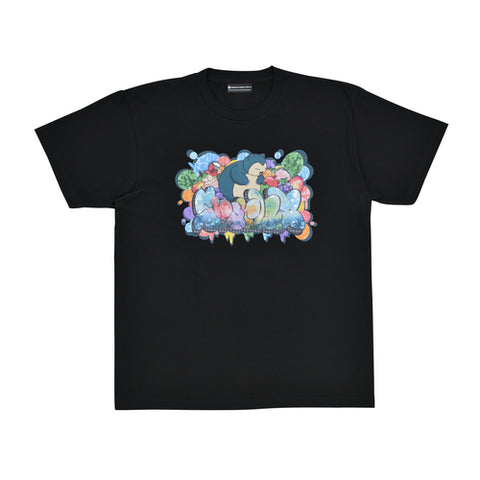 Pokémon Center SHIBUYA: Snorlax Graffiti Artist T-Shirt