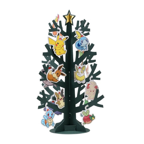 Pokémon Original Greeting Card Christmas Hanging Tree