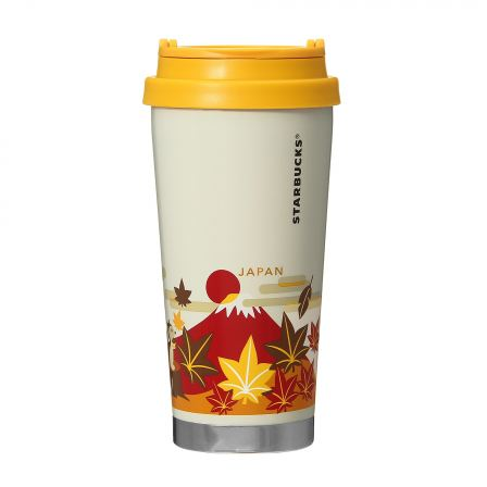 Starbucks Japan: You Are Here Collection - Japan Autumn Stainless Steel Tumbler 473ml