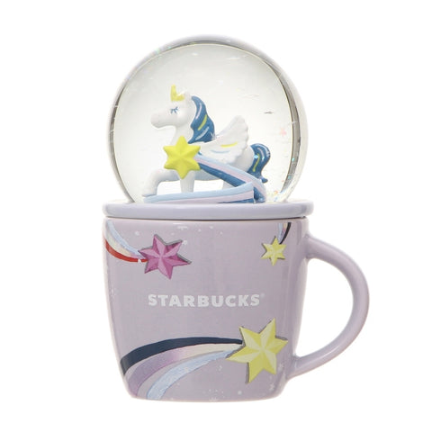 Starbucks Japan: Pegasus Mug & Snow Globe 89ml