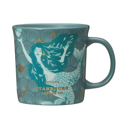 Starbucks Japan 2020 Anniversary Tumbler: Siren Mug 355ml