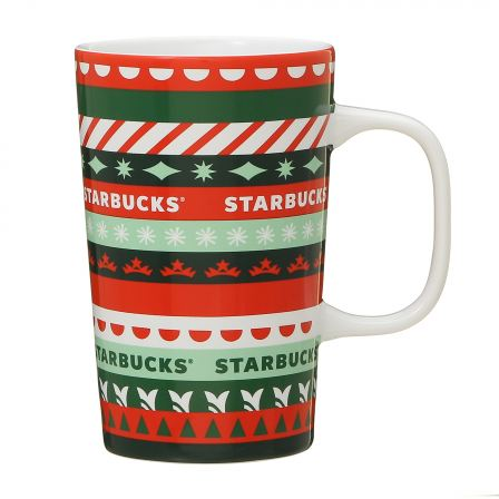Starbucks Japan: Holiday 2020 Christmas Patterns Mug 355ml