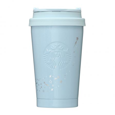 Starbucks Holiday 2020 Stainless ToGo Logo Tumbler Pearl Blue - 355ml