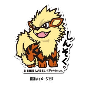 Pokemon Sticker: Arcanine