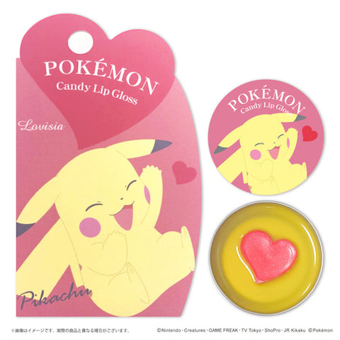Pokemon Candy lip gloss Pikachu 10g