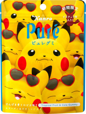 Pure Gummy Pikachu: Tropical Flavor
