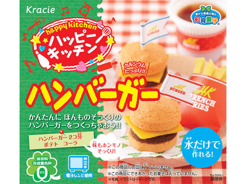 Happy Kitchen DIY Burger Snack Kit