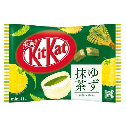 Matcha Yuzu KitKat Party Pack