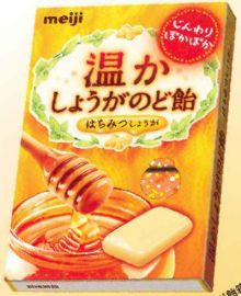 Meiji Warm Ginger Cough Drop