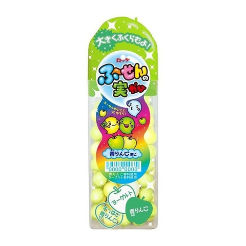 Lotte Fusen No Mi Green Apple Bubble Gum