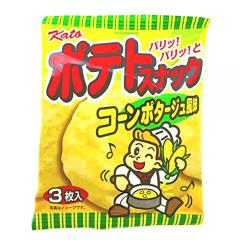 Kato Potato Snack Corn Potage Flavor
