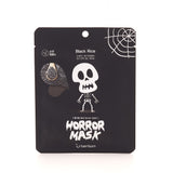 Berrisom Horror Mask Skull Black Rice