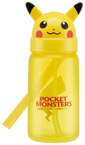Pikachu Straw Bottle