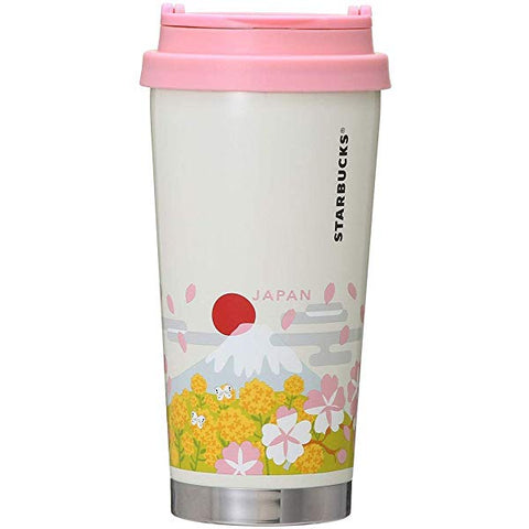 Starbucks You Are Here Collection Stainless Tumbler: Japanese Spring (473ml)