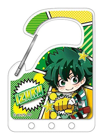 My Hero Academia Carabiner Key Holder - Deku