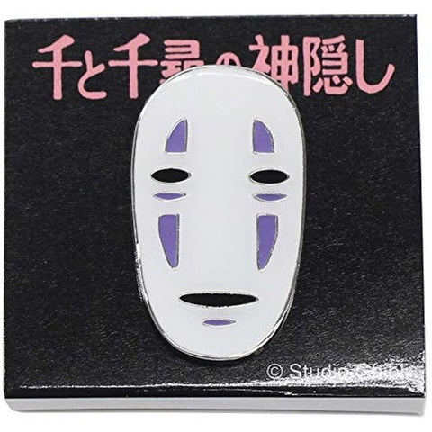 No Face Ghibli Pin