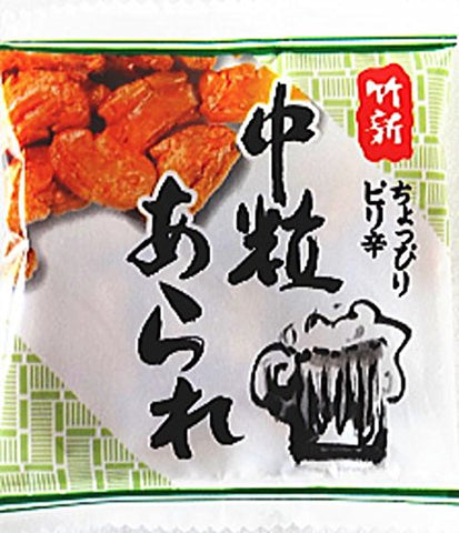 Spicy Japanese Grain Crackers