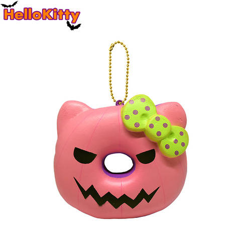 Hello Kitty Halloween Donut Squishy - Pink