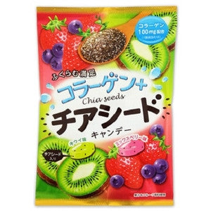 Collagen + Chia Seed Fruit Candies