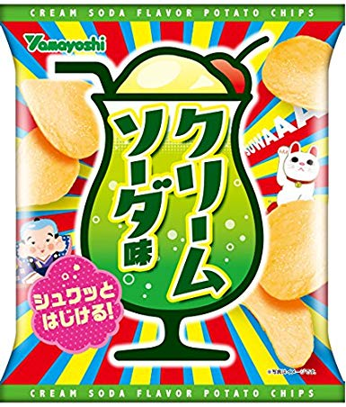 Melon Cream Soda Chips