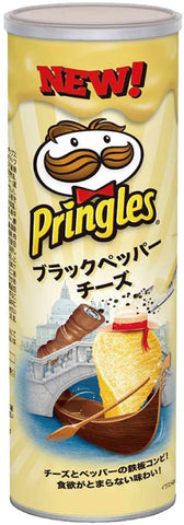 Pringles Black Pepper Cheese