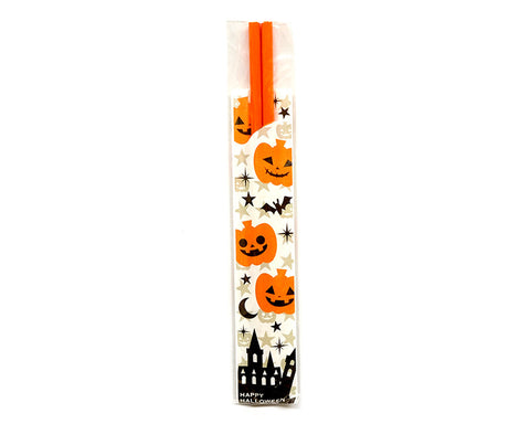 Halloween Themed Chopsticks - Orange