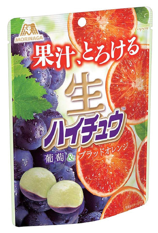 Morinaga Hi-Chew NEW Grapes + Orange