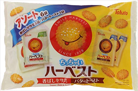 Butter Toast & Sesame Biscuits Party Pack