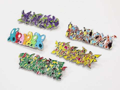 Pokémon Center SHIBUYA: Graffiti Art Pins Blind Box