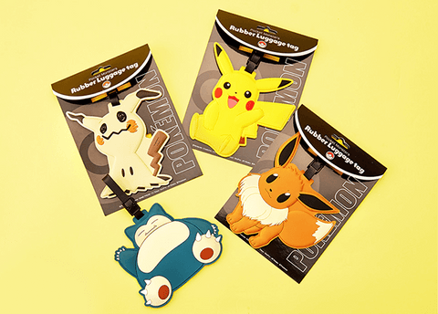 Pokemon Luggage Tag
