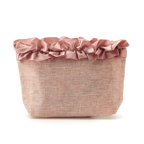 Frill Makeup Pouch