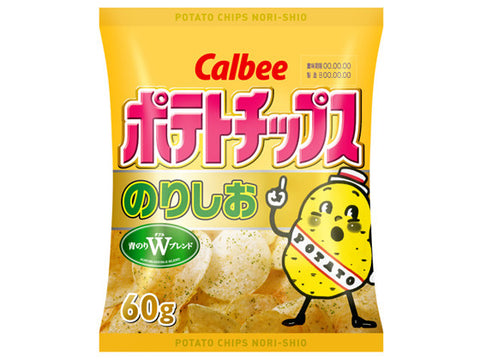 Calbee Seaweed and Salt Potato Chips