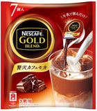 Nescafe gold blend luxury cafe mocha