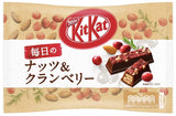 Kit Kat Everyday nuts & cranberry chocolate